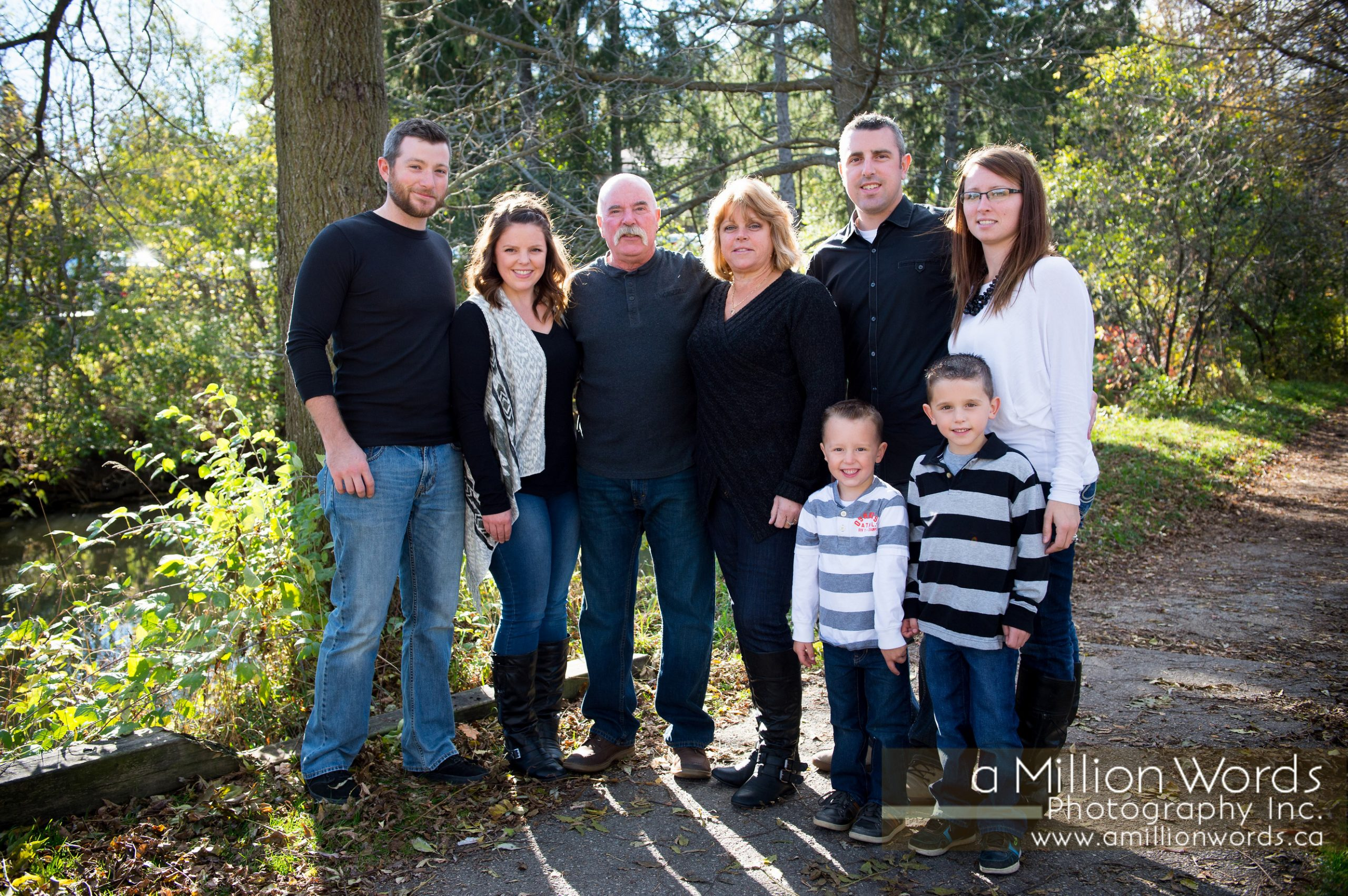 Family Photos at St. Jacobs
