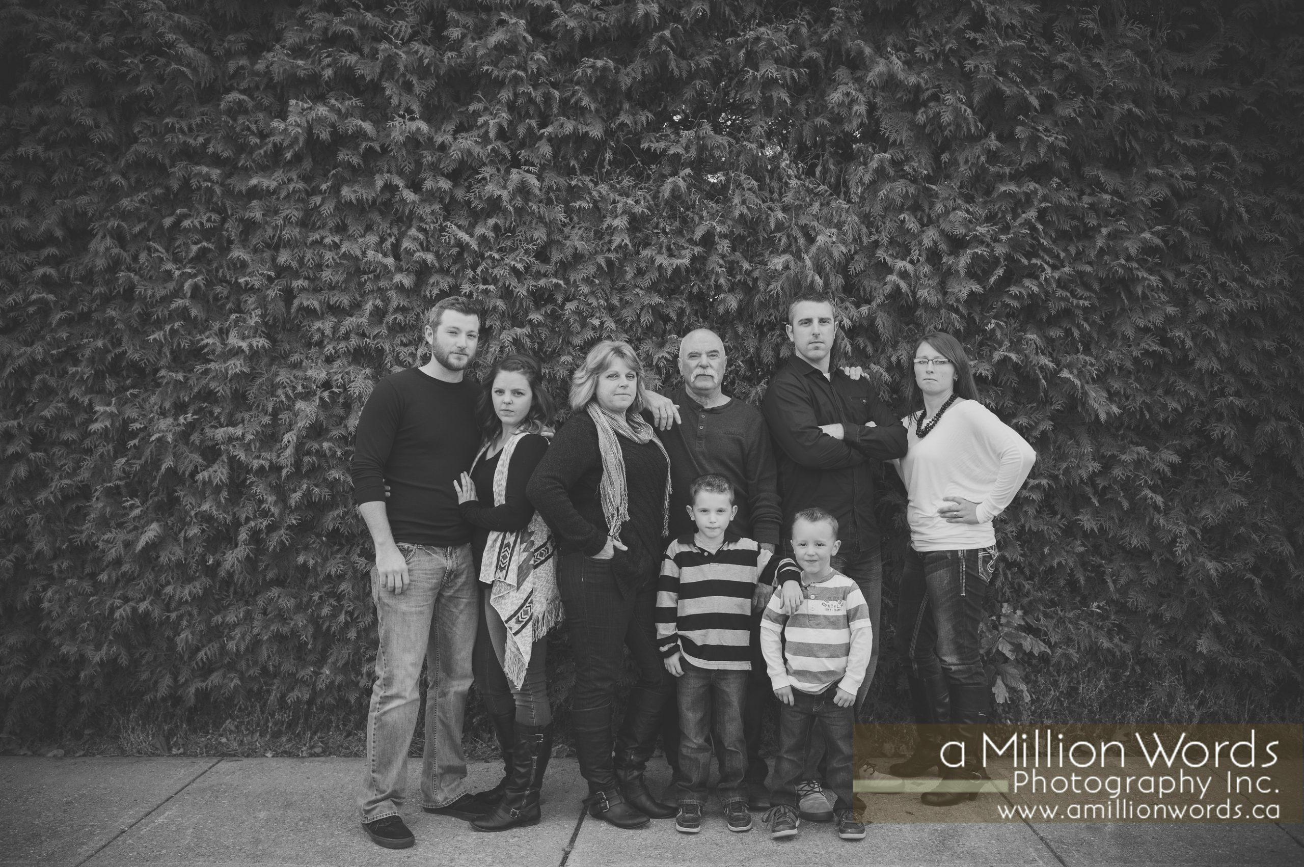 Family Photo Session in St. Jacobs