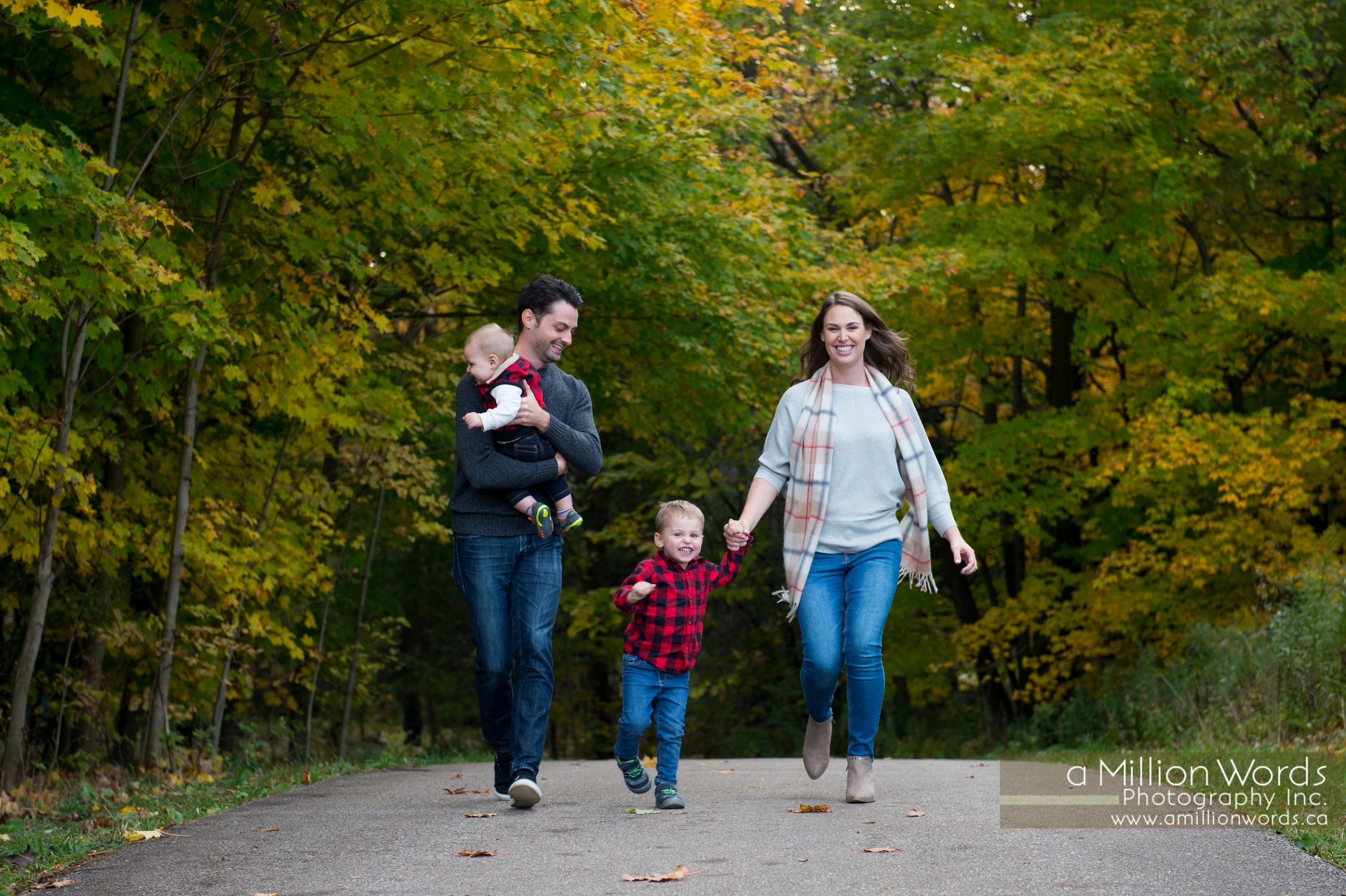 Fall family photography Kitchener