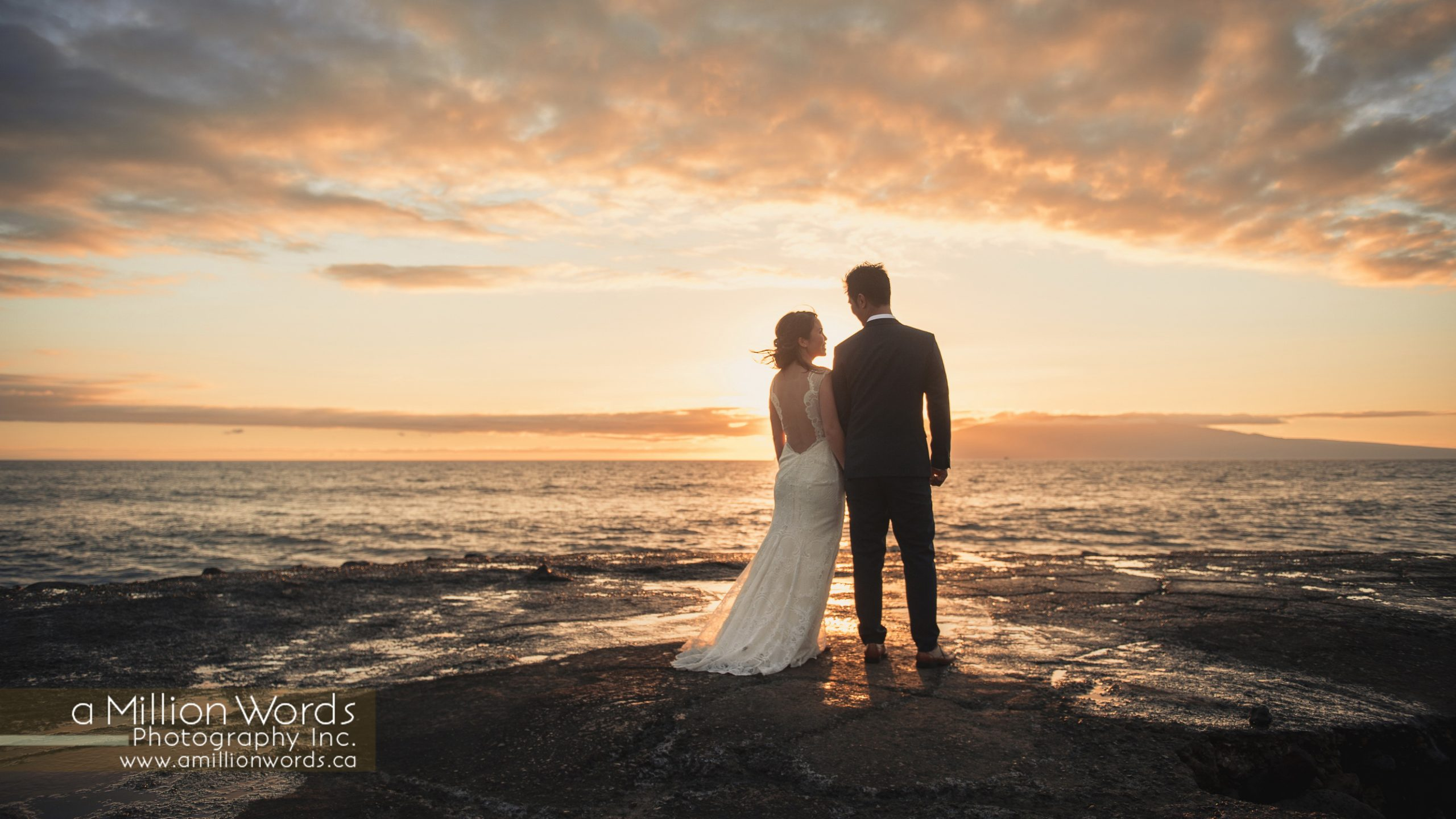 Destination wedding Maui photography