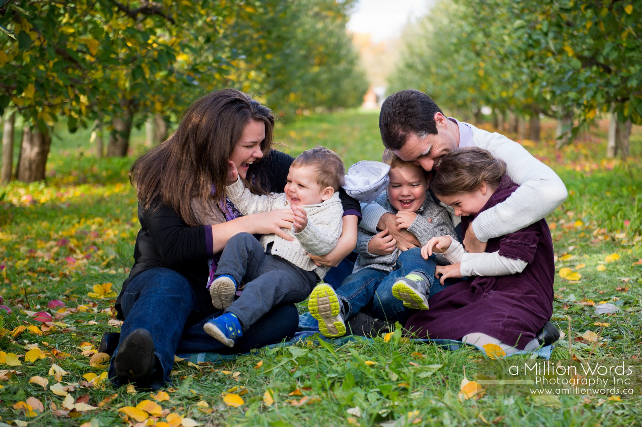 Apple Farm Family Photography at St. Jacobs